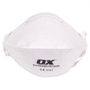 Image for OX mascarilla ffp2 pliegue horizontal (paq50)